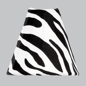 Bell-Shape Zebra Print Night Light