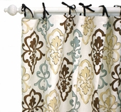 Bella Amore Curtain Panel Set