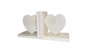 Bella Heart Bookends