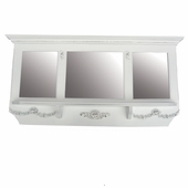 Bella Mirrored Wall Shelf