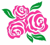 Bella Rose Custom Wall Decal