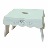 Bella Rose Single Step Stool