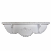 Bella Rose Small Wall Shelf