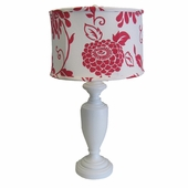 Belle Floral Large Urn Lamp