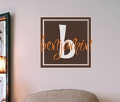 Benjamin's Box Custom Personalized Wall Decal
