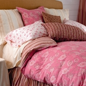 Berry Camille Reversible Duvet