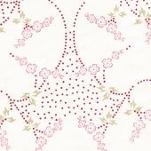 Berry Manon Fabric