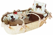 Best Friend Moses Basket & Blanket