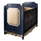 Beverly Crib with Upholstered Panels in Your Fabric