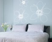 Big Flower Custom Wall Decal