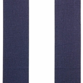 Big Navy Stripe Fabric