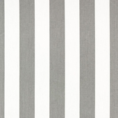 Big Stripe in Slate Fabric