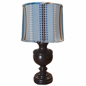 Big Top Chambray Classic Urn Lamp