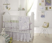 Birds of Paradise 3-Piece Crib Bedding Set