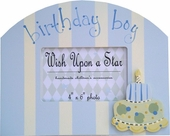 Birthday Boy Picture Frame