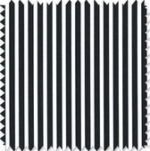 Black & White Stripe Fabric