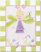 Blonde Fairy Giclee Gallery Wrapped Stretched Giclee Canvas