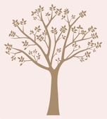Blossoming Tree I Wall Decal
