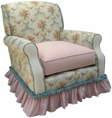 Blossoms & Bows Adult Club Glider Rocker Chair - Foam or Down