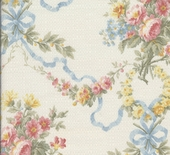 Blossoms & Bows Upholstery Fabric