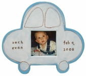Blue Car Character Picture Frame