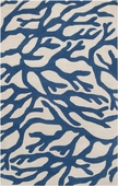 Blue Coral Escape Hand-Tufted Rug