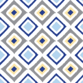Blue Diamond Fabric