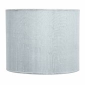 Blue Large Drum Lamp Shade