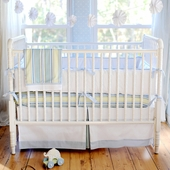 Blue Skye 2-Piece Crib Bedding Set