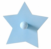 Blue Star Wall Peg