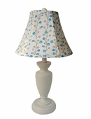 Blue Twiggy Childtop Urn Lamp