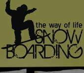 Boarding the Way of Life Custom Wall Decal