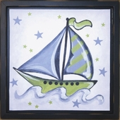 Boat Mounted Deco Art Print