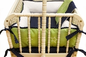Boy Oh Boy 2-Piece Cradle Bedding Set
