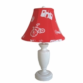 Boys Toys Red Childtop Urn Lamp