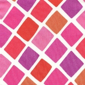 Bright Diamonds Fabric