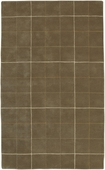 Brown Plaid Goa Hand-Tufted Rug