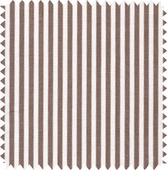 Brown Stripe Fabric
