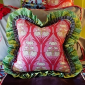 Brynn Ruffled Throw Pillow