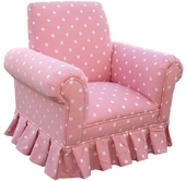 Bubble Gum Pink Child Club Chair
