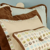 Bubbles Stripe Euro Sham