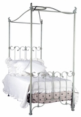Bunnies Iron Canopy Bed