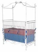 Bunnies Iron Canopy Crib