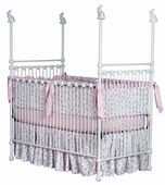 Bunnies Iron Poster Crib