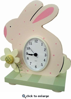 Bunny Table Clock