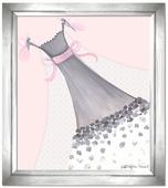 Butterfly Couture Framed Giclee Print