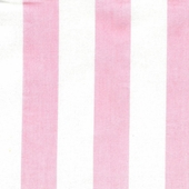Cabana Stripe Pink Fabric