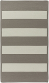 Cabana Stripes Braided Rug - Beige
