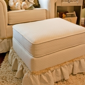 Cake Boss Adult Continental Ottoman - Stationary or Glider