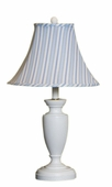 Candystripe Blue Childtop Urn Lamp